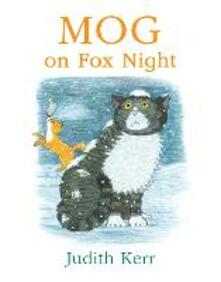 Mog on Fox Night - Judith Kerr - cover