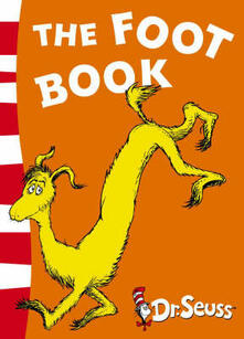The Foot Book: Blue Back Book - Dr. Seuss - cover