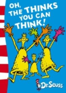Oh, The Thinks You Can Think!: Green Back Book - Dr. Seuss - cover