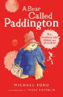 A Bear Called Paddington - Michael Bond - cover