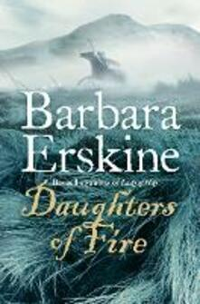 Daughters of Fire - Barbara Erskine - cover