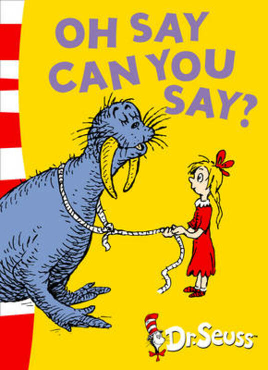 Oh Say Can You Say?: Green Back Book - Dr. Seuss - cover