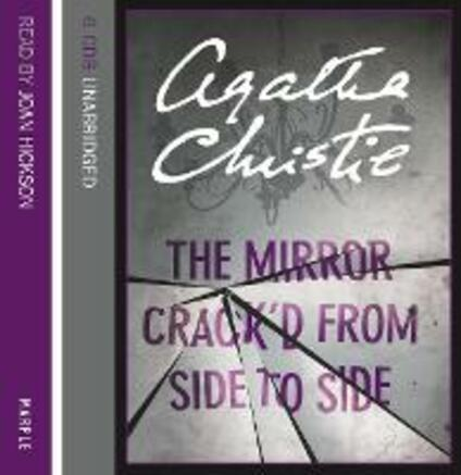The Mirror Crack'd from Side to Side - Agatha Christie - cover