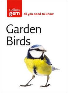 Garden Birds - Stephen Moss - cover