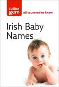 Irish Baby Names - cover