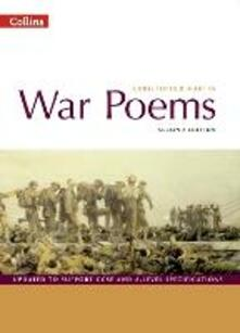 War Poems: Student'S Book - cover