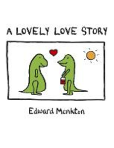 Libro in inglese A Lovely Love Story  - Edward Monkton