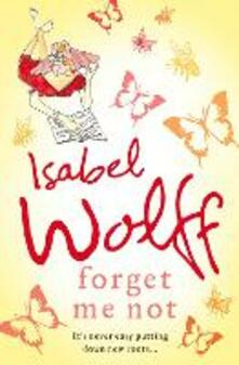 Forget Me Not - Isabel Wolff - cover