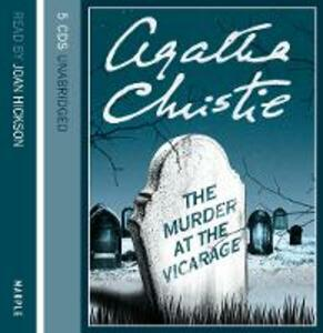 The The Murder at the Vicarage - Agatha Christie - cover