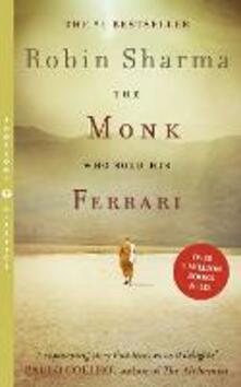 The Monk Who Sold his Ferrari - Robin Sharma - cover
