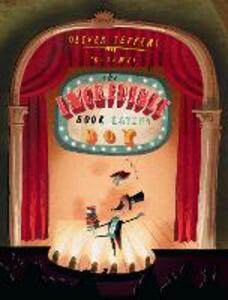 The Incredible Book Eating Boy - Oliver Jeffers - cover