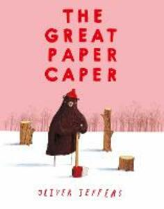 The Great Paper Caper - Oliver Jeffers - cover
