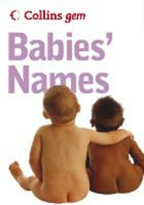 Libro in inglese Collins Gem Babies Names
