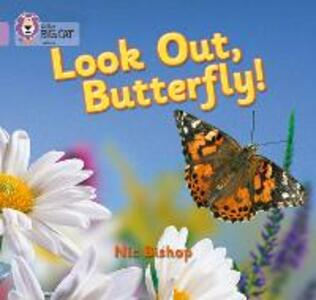 Look Out Butterfly!: Band 00/Lilac - Nic Bishop - cover
