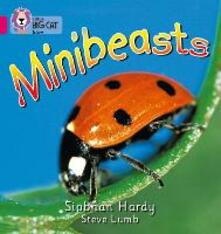Minibeasts: Band 01a/Pink a - Siobhan Hardy - cover
