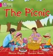 The Picnic: Band 01a/Pink a - Monica Hughes - cover