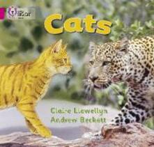 Cats: Band 01b/Pink B - Claire Llewellyn - cover