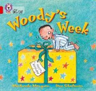 Woody's Week: Band 02b/Red B - Michaela Morgan - cover