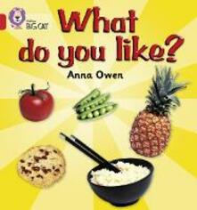 What Do You Like?: Band 02b/Red B - Anna Owen - cover