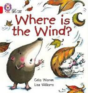 Where is the Wind?: Band 02b/Red B - Celia Warren - cover