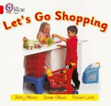 Let's Go Shopping: Band 02b/Red B - Betty Moon - cover