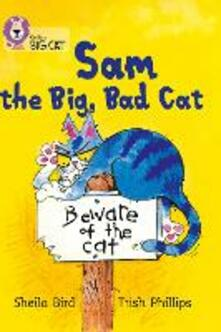 Sam and the Big Bad Cat: Band 03/Yellow - Sheila Bird - cover