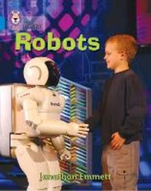 Robots: Band 04/Blue - Jonathan Emmett - cover