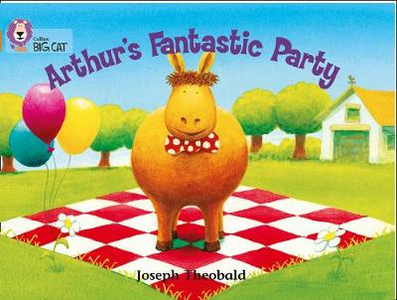Libro in inglese Arthur's Fantastic Party: Band 06/Orange  - Joseph Theobald