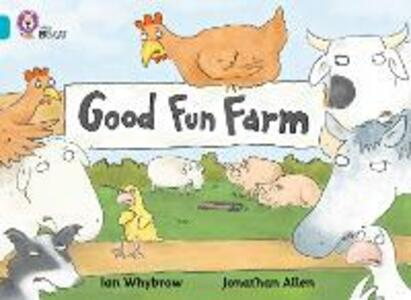 Good Fun Farm: Band 07/Turquoise - Ian Whybrow - cover
