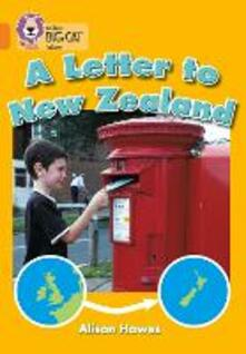 A Letter to New Zealand: Band 06/Orange - Alison Hawes - cover