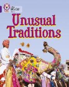 Unusual Traditions: Band 08/Purple - John McIlwain - cover