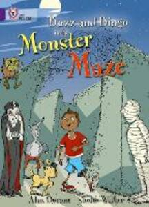 Buzz and Bingo in the Monster Maze: Band 08/Purple - Alan Durant - cover