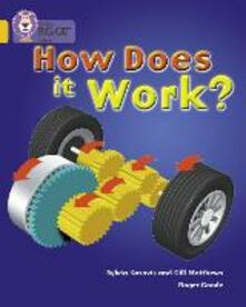 How Does It Work: Band 09/Gold - Gill Matthews,Sylvia Karavis - cover
