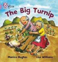 The Big Turnip: Band 00/Lilac - Monica Hughes - cover