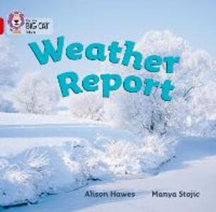 Weather Report: Band 02a/Red a - Alison Hawes - cover