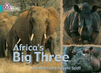 Africa's Big Three: Band 07/Turquoise - Jonathan Scott,Angela Scott - cover