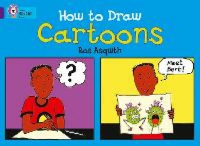Libro in inglese How to Draw Cartoons: Band 08/Purple  - Ros Asquith