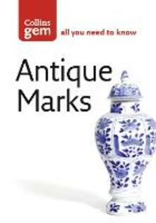 Antique Marks - Anna Selby,The Diagram Group - cover