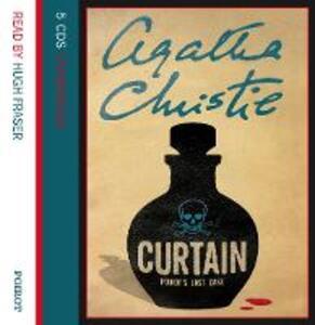 Curtain: Poirot'S Last Case - Agatha Christie - cover