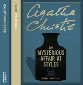 The The Mysterious Affair at Styles - Agatha Christie - cover