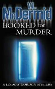Booked for Murder - V. L. McDermid - cover