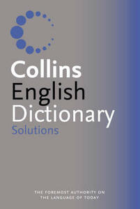 Collins Solutions English Dictionary - cover