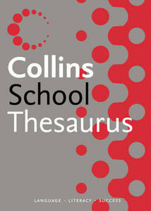 Collins School Thesaurus - cover