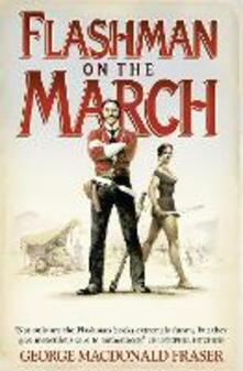 Flashman on the March - George MacDonald Fraser - cover