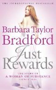 Just Rewards - Barbara Taylor Bradford - cover