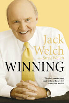 Winning: The Ultimate Business How-to Book - Jack Welch,Suzy Welch - cover