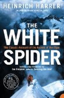 The White Spider - Heinrich Harrer - cover