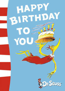 Happy Birthday to You! - Dr. Seuss - cover