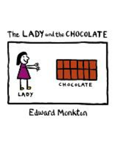 Libro in inglese The Lady and the Chocolate  - Edward Monkton