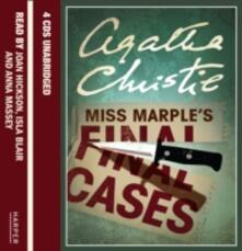 Miss Marple's Final Cases - Agatha Christie - cover